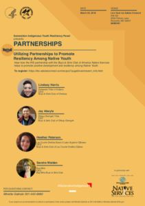 Generation Indigenous Youth Resiliency Panel Series